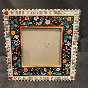 Vintage Mary Engrlbreit picture frame Friend 🌸